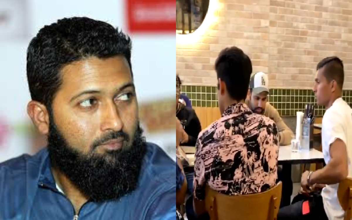 do we have evidence about the alleged hug of indian players says wasim jaffer