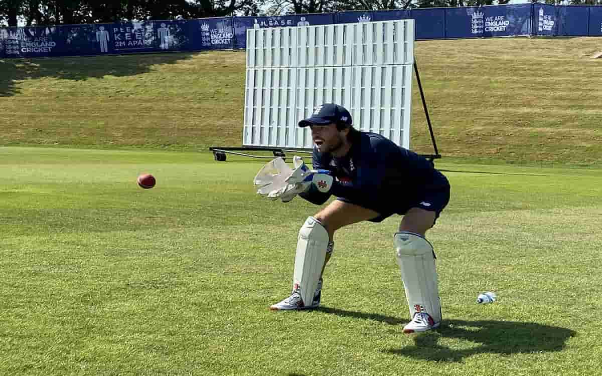 Cricket Image for Excitement, Anticipation As Ben Foakes Gears Up For Test Return In India