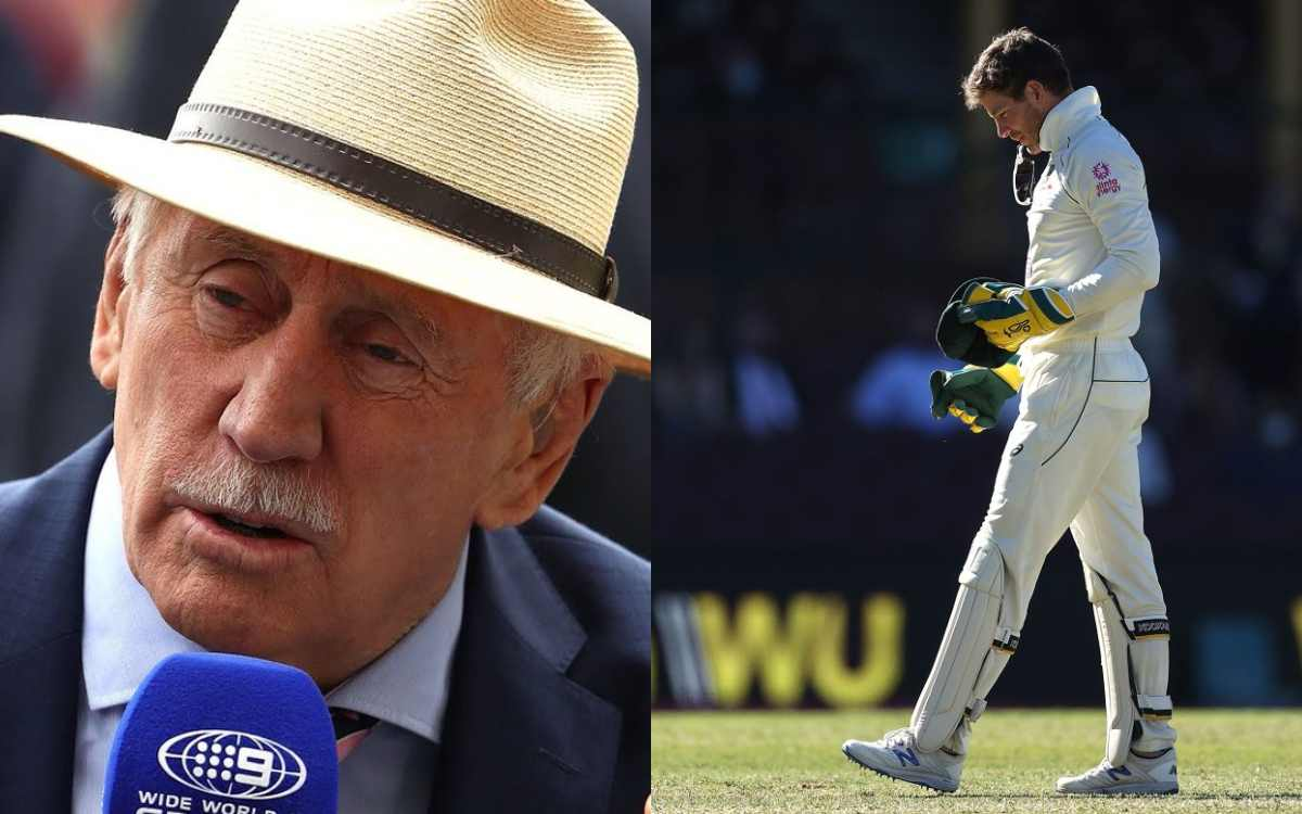 Images for Former australian captain ian chappell gives advice to tim paine to shut up and get on wi