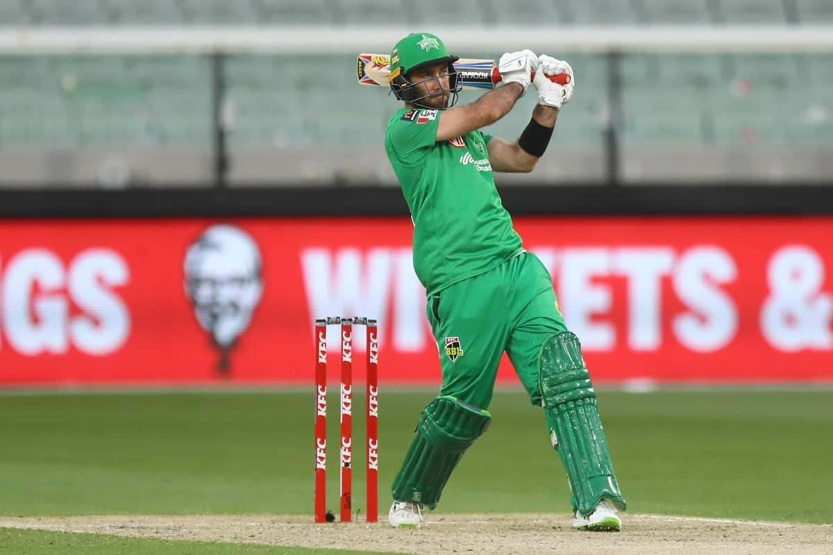 Cricket Image for Glenn Maxwell Takes Melbourne Stars To 177/6 Against Sydney Sixers
