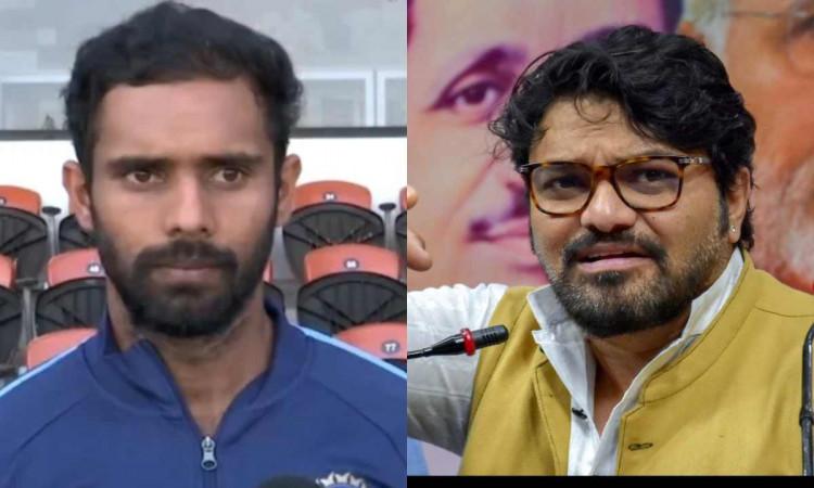 hanuma vihari become hero on social media after his epic reply to politician babul supriyo