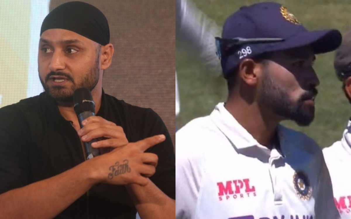 harbhajan singh reaction on crowd racial abuse on mohammed siraj in sydney test  2021