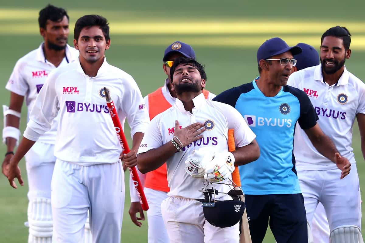 Cricket Image for 'Biggest Thing In My Life': Rishabh Pant After Winning The Brisbane Test For India