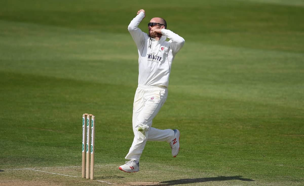Cricket Image for Jack Leach Signs Two Year Extension With Somerset
