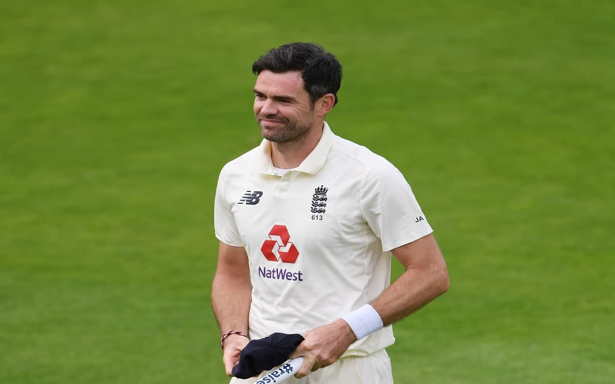 Image of Cricketer james Anderson