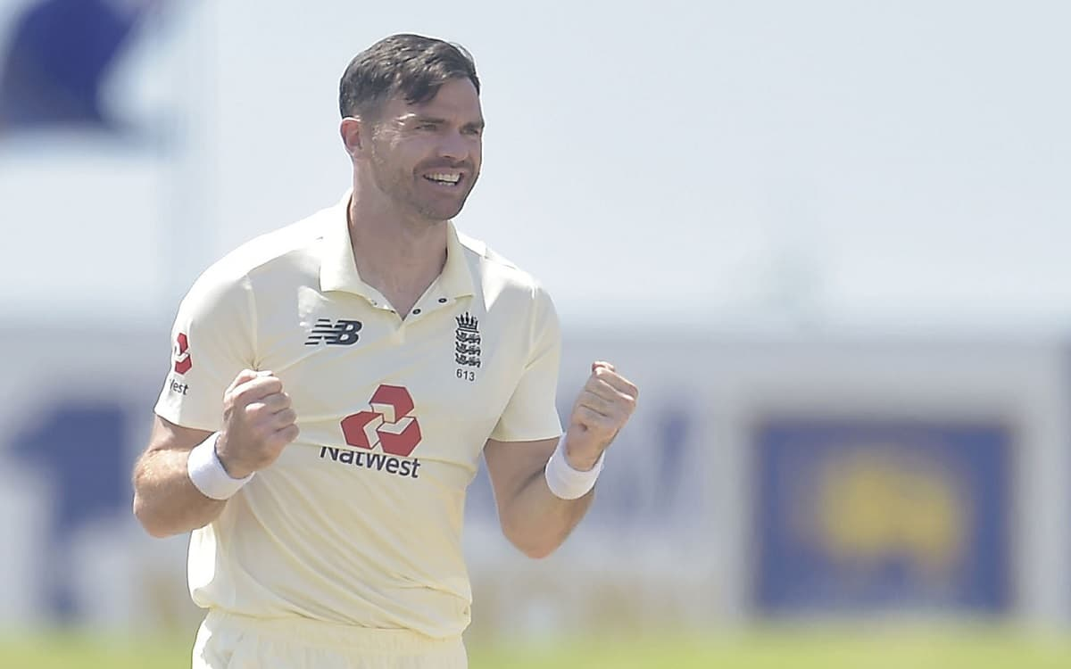 Cricket Image for SL vs ENG: James Anderson On Top After Six-For In Hot And Humid Galle