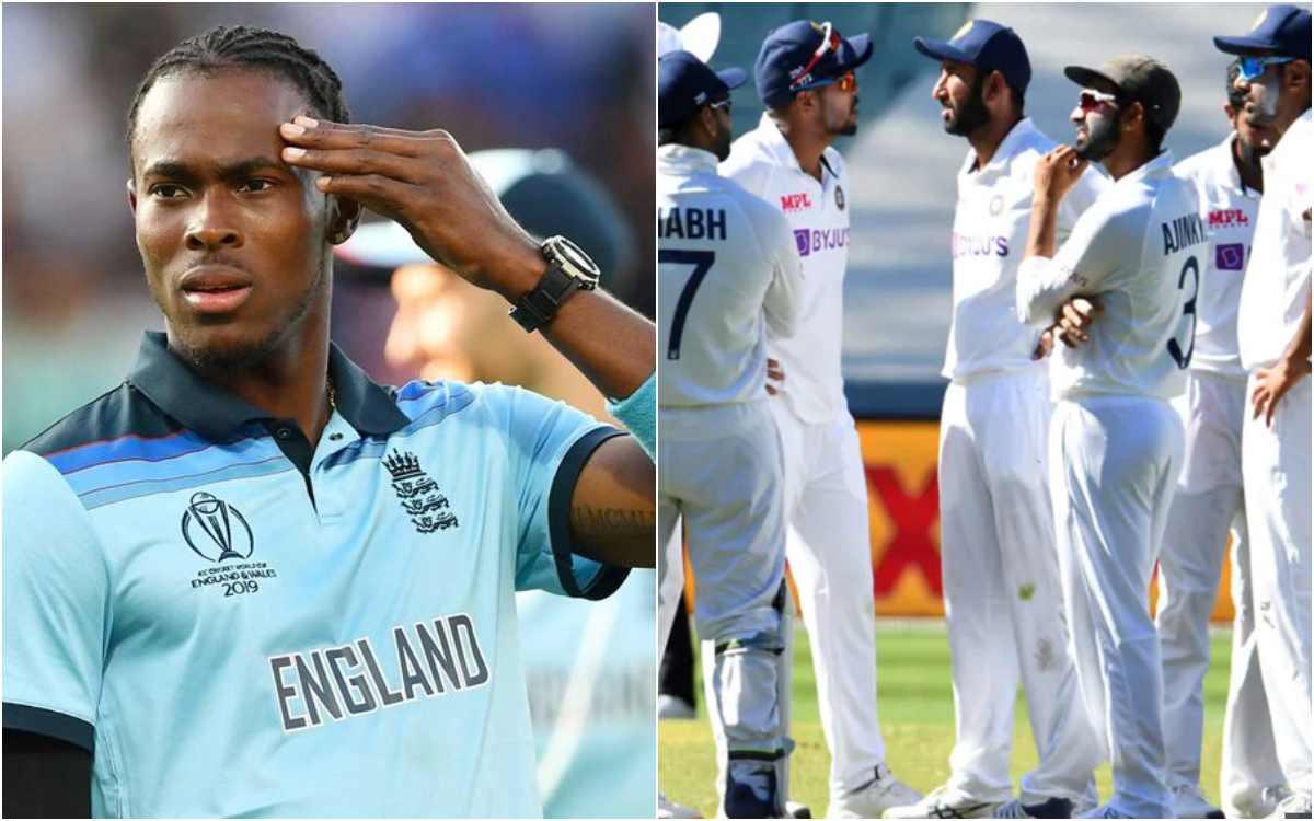 jofra archer viral tweet about india vs australia test series 2020-21