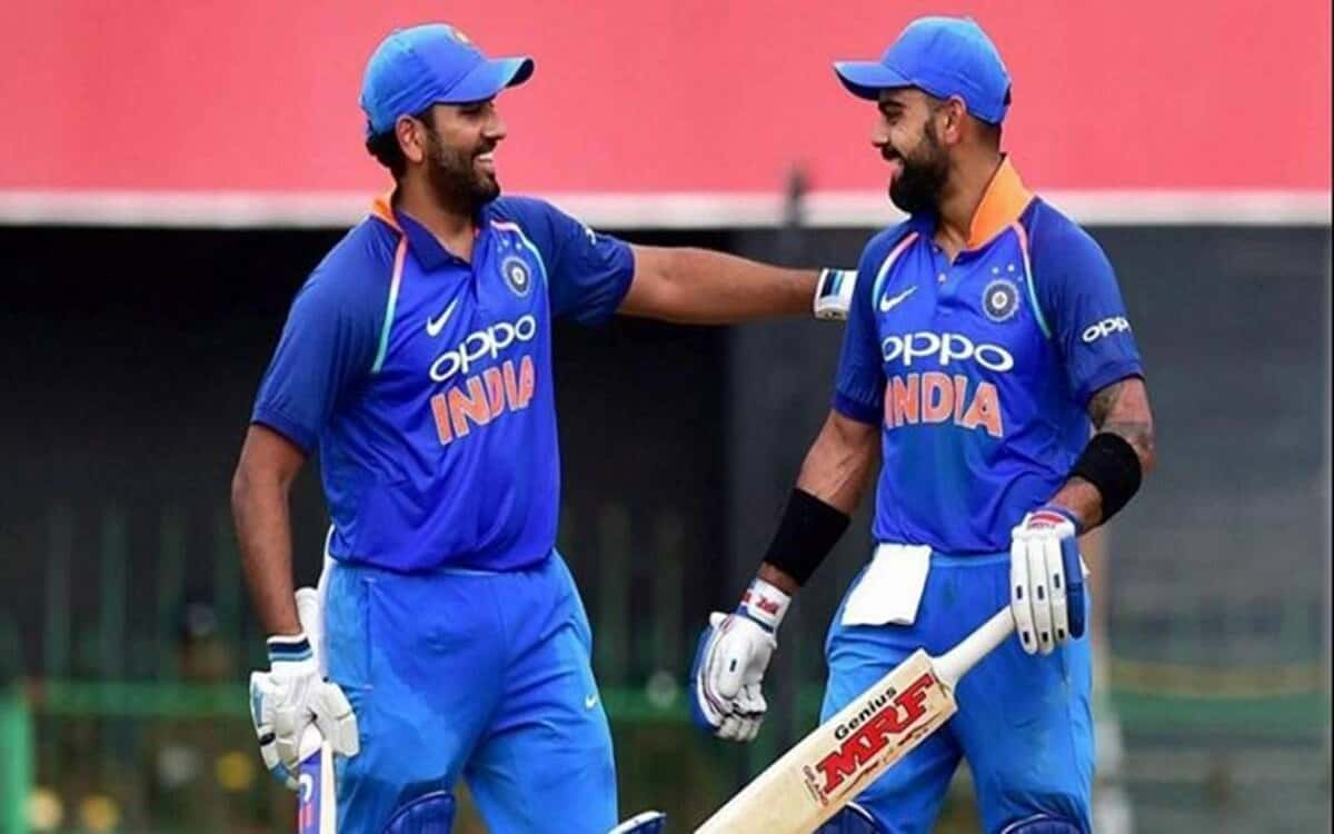 Kohli and Rohit dominate the first two places in ICC ODI ranking