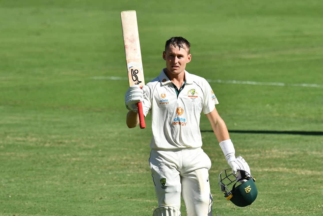 Image of Cricket Marnus labuschagne rescues australia with fifth test century