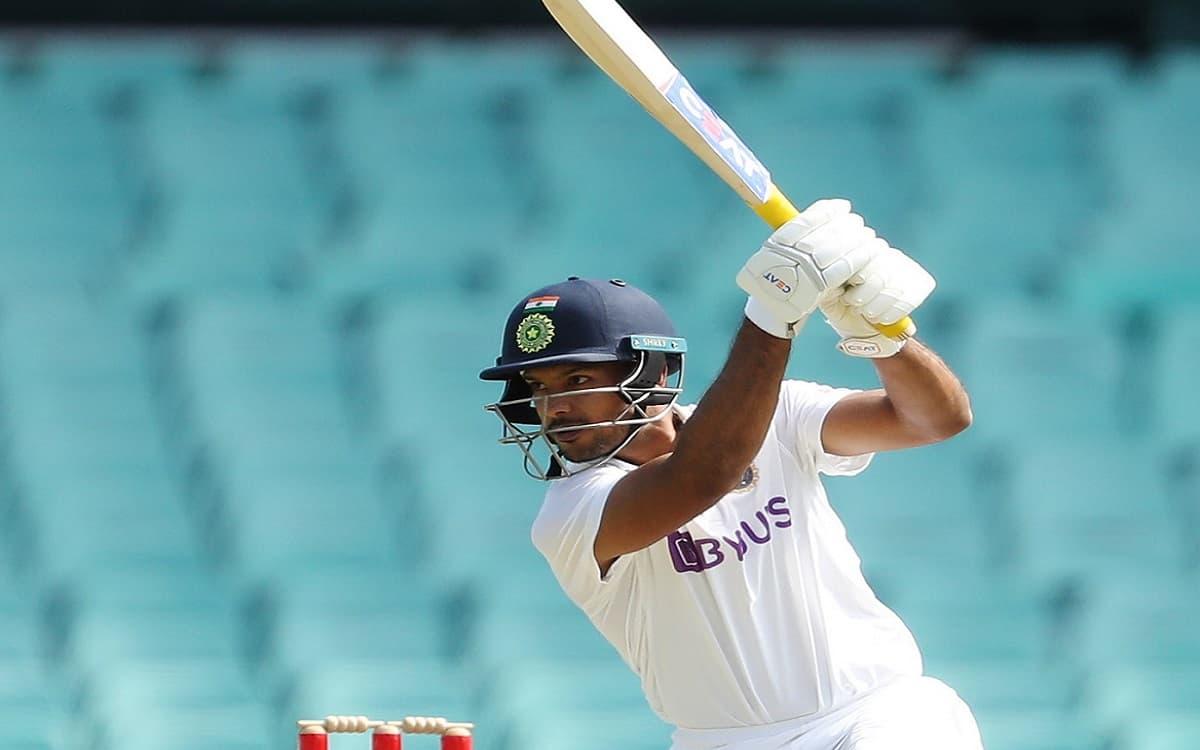 Image of Cricket Mayank Agarwal