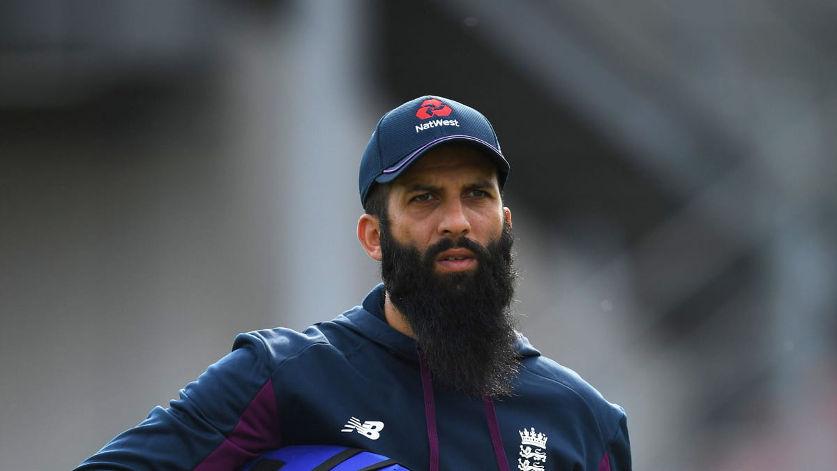 Image of England all-rounder Moeen Ali has tested positive for Covid-19