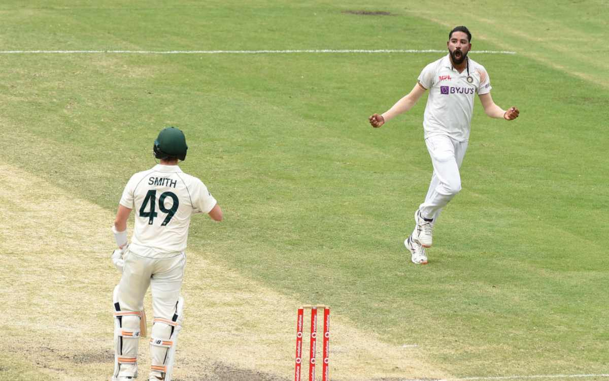 Cricket Image for Mhammed siraj in brisbane test 2020-21
