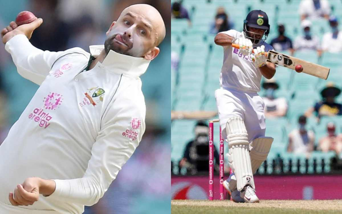 nathan lyon prepared to bowl his mystery ball jeff in brisbane test against india