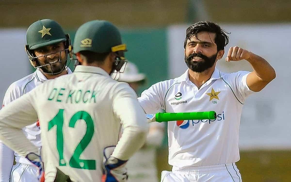 Cricket Image for PAK vs SA:  कराची की जमीन पर फवाद और फहीम ने दिखाया दम, मैच में पाकिस्तान का पलड़ा