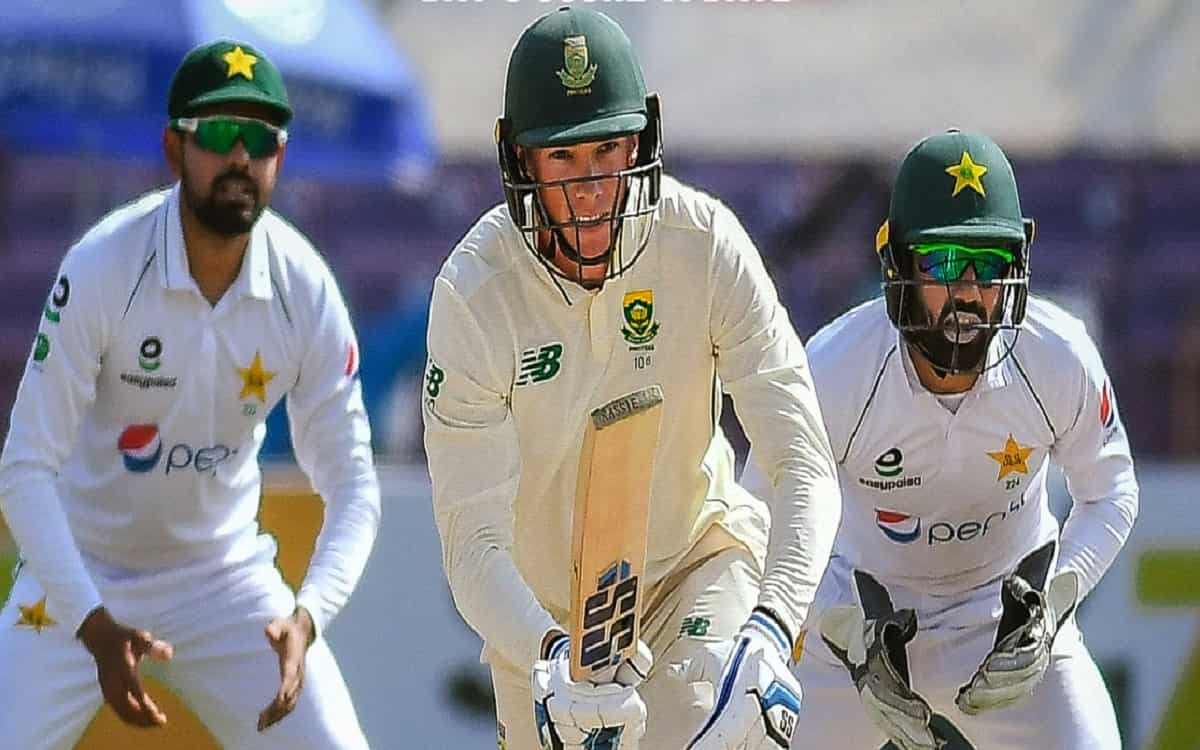 PAK vs SA: South Africa's strong batting on the third day of the Karachi Test