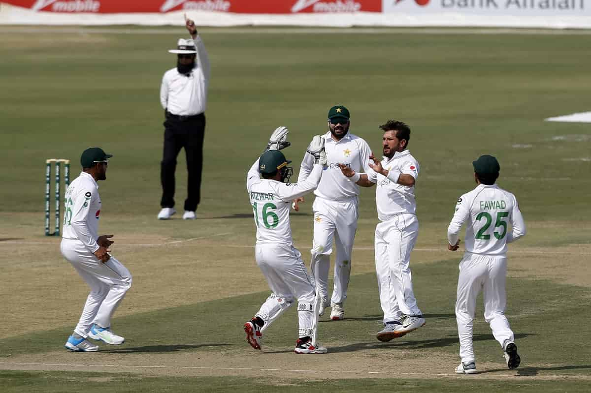 Cricket Image for Pakistan's Spinners Rattle South Africa In First Test