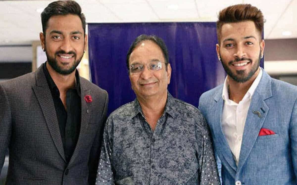 Cricket Image for Hardik Pandya's Father Dies Of Heart Attack