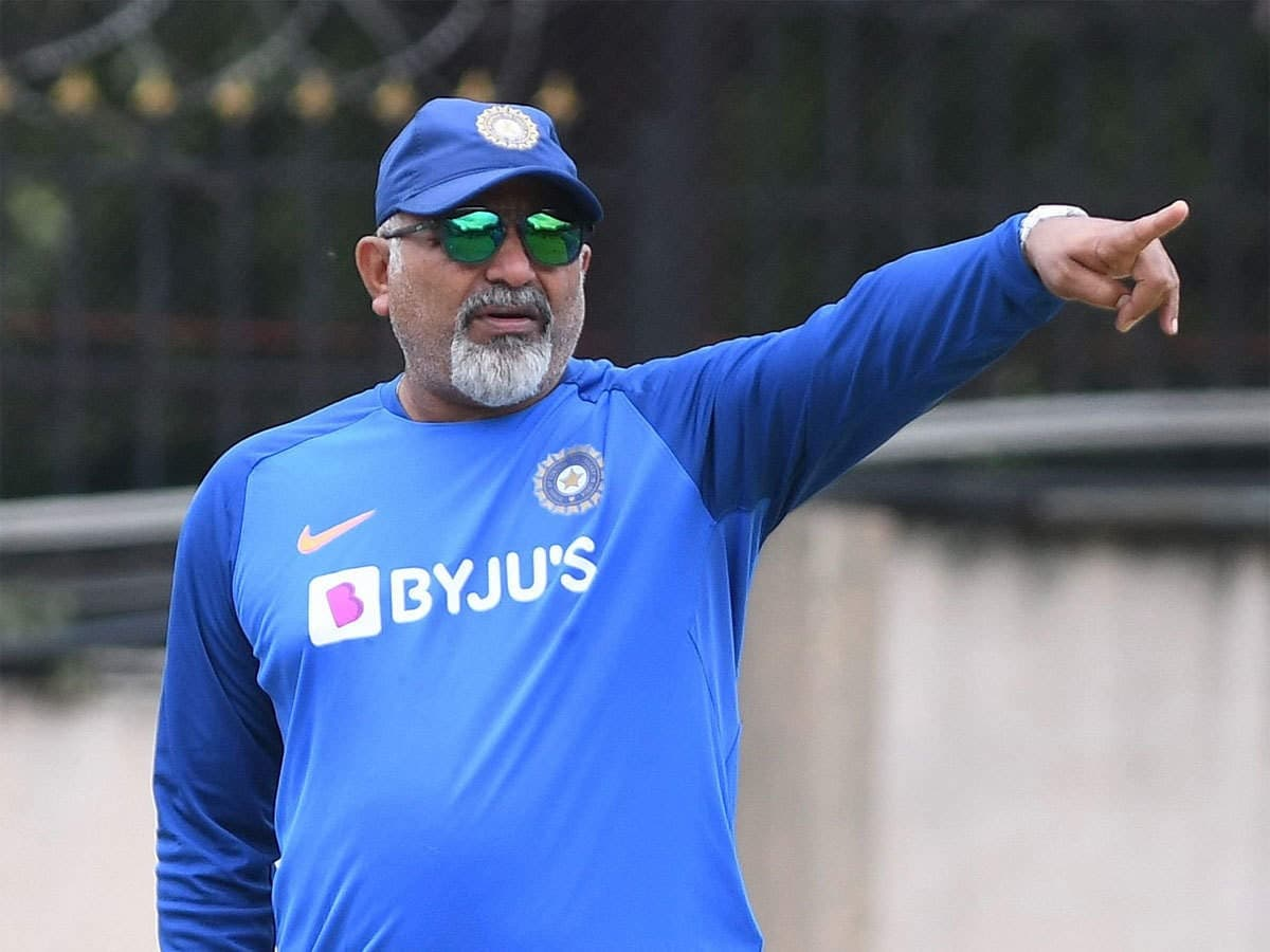 Cricket Image for India bowling Coach Bharat Arun