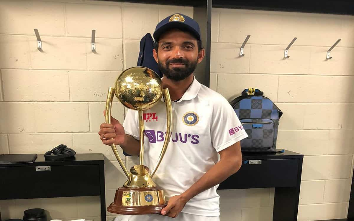 'Honor is more than victory or defeat', Ajinkya Rahane did this work for the honor of Kangaroo team