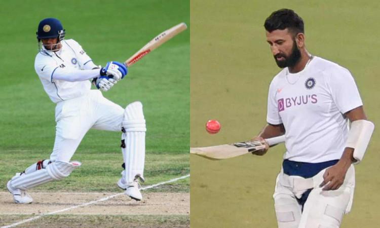 rahul dravid trending after slow batting of cheteshwar pujara in sydney test against australia