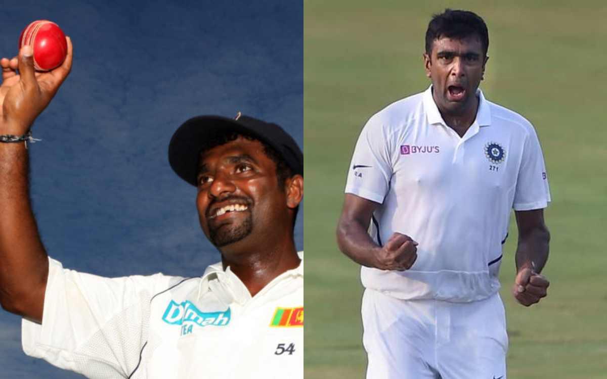 ravichandran ashwin can reach to 800 wickets milestone lyon not good enough says muttiah muralithara