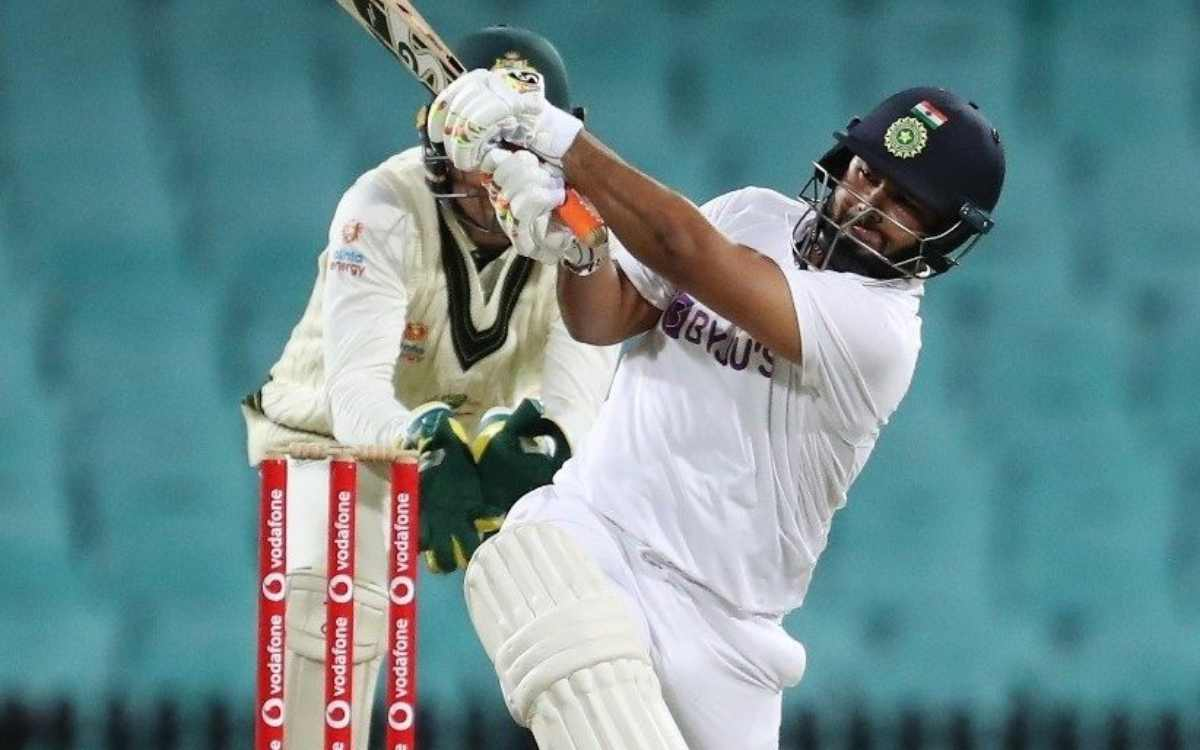 Cricket Image for Rishabh Pant Brisbane test