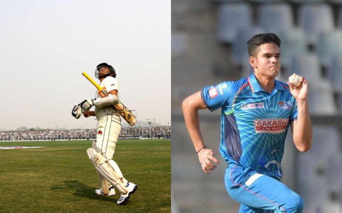sachin tendulkar son arjun made debut for senior mumbai team in syed mushtaq ali trophy