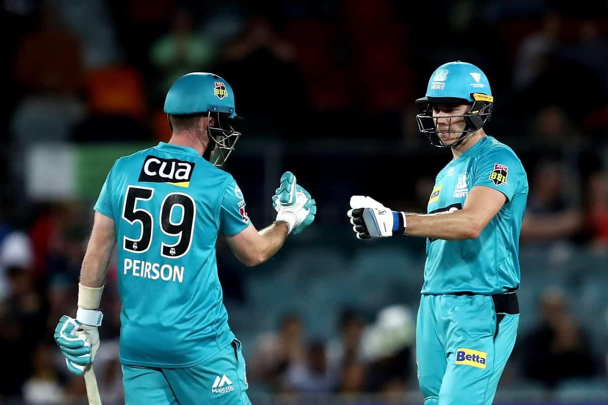 Cricket Image for Sam Heazlett Powers Brisbane Heat To 7 Wicket Win Over Sydney Thunder