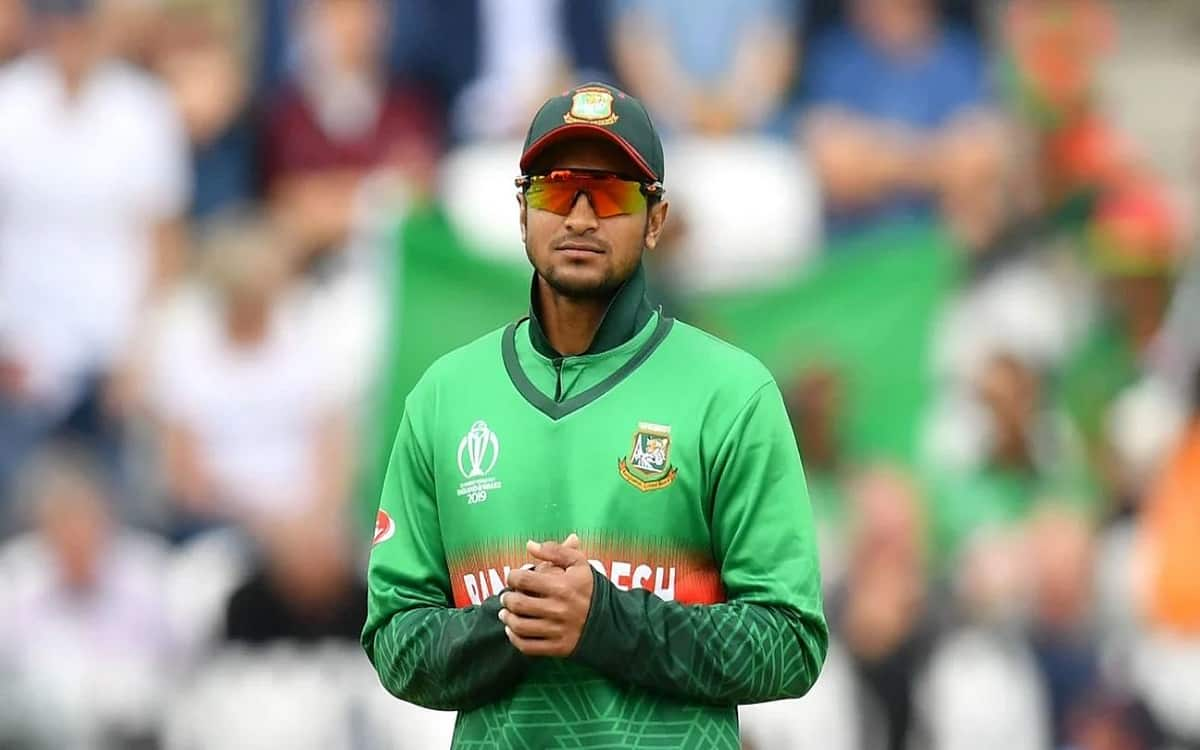 Cricket Image for Bangladesh's Shakib Al Hasan In Doubt For New Zealand Tour