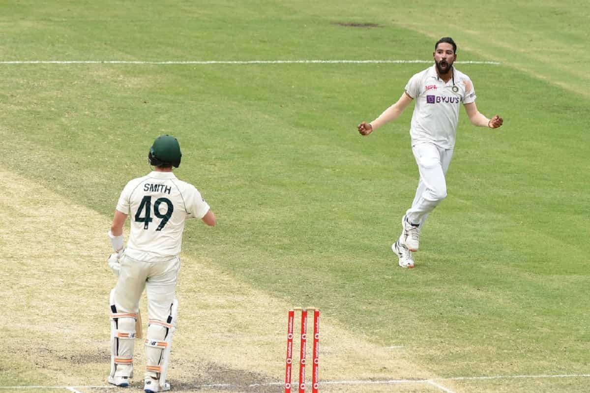 Cricket Image for Siraj 'Speechless' After His Maiden Five-Wicket Haul At Brisbane Test