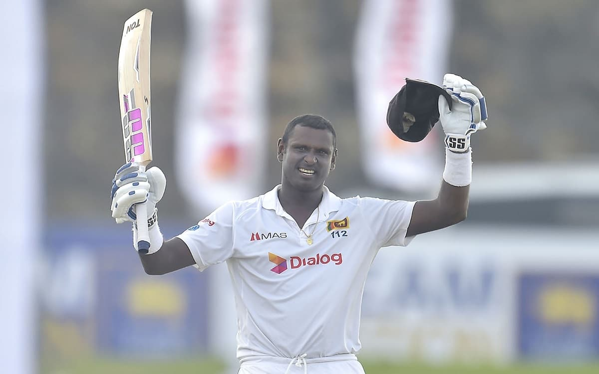 SL vs ENG: Sri Lanka dominate England on the first day of the gaul test, Matthew's scored century