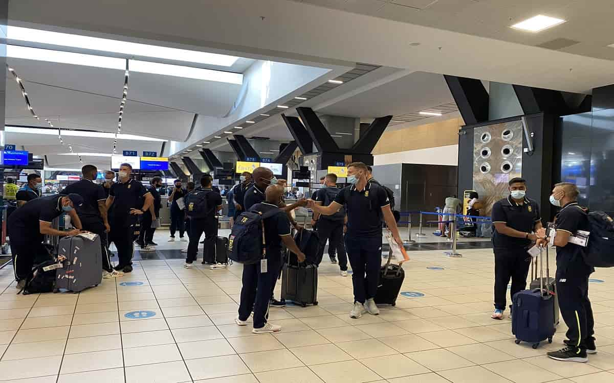 Cricket Image for PAK vs SA: South Africa Arrive For First Pakistan Tour In 14 Years