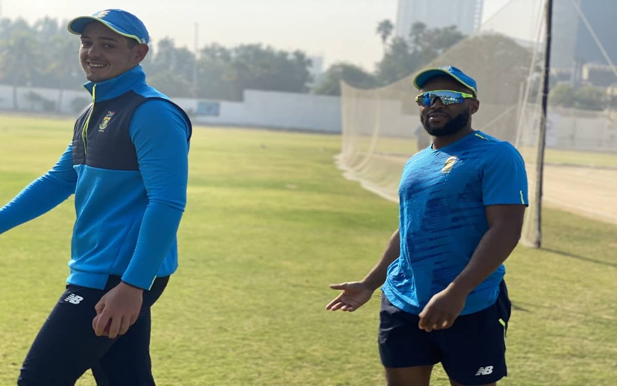Cricket Image for PAK vs SA: South Africa Impressed With Pakistan Security, Says Skipper Quinton De