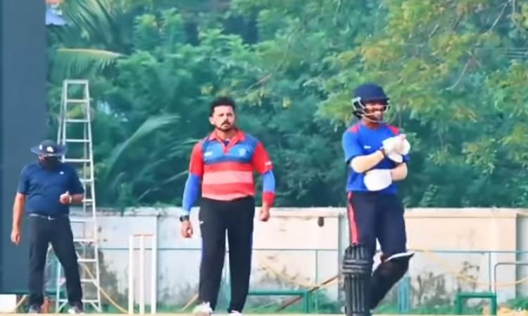 Syed Mushtaq Ali Trophy Sreesanth Back On Fire watch Video