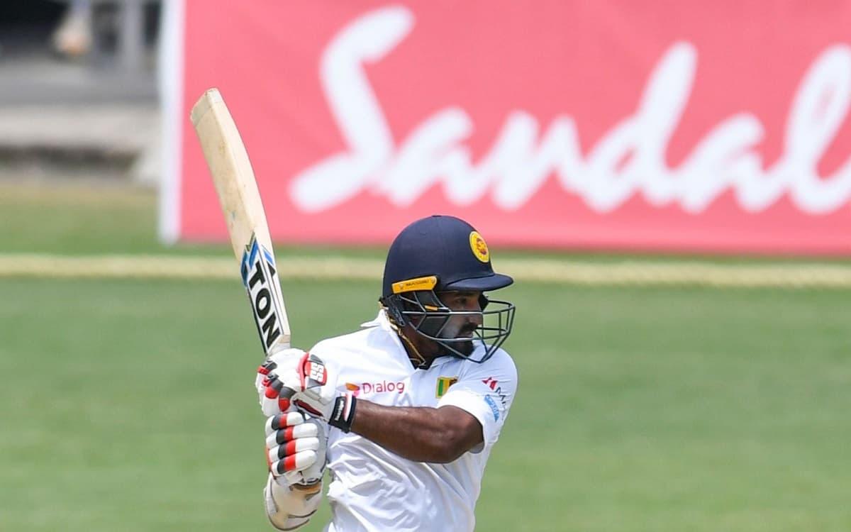 Cricket Image for SL vs ENG: गॉल टेस्ट के तीसरे दिन इंग्लैंड के सामने मजबूत दिखी श्रीलंकाई टीम, कुसल