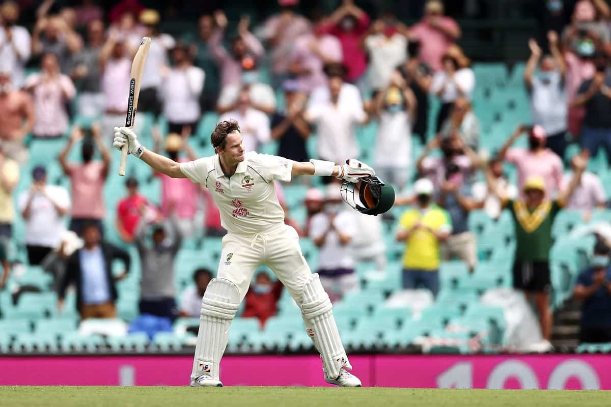 image for cricket steve smith against india