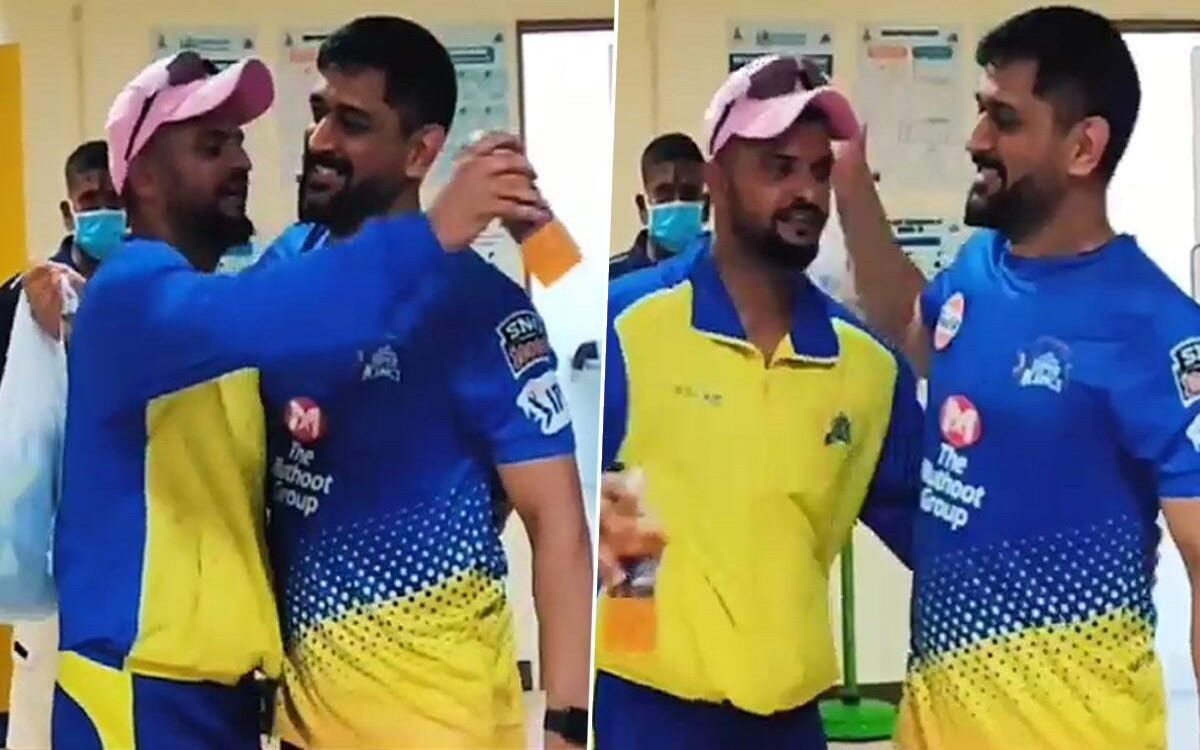 Cricket Image for Suresh Raina Talks About His Relationship With Csk Captain Ms Dhoni