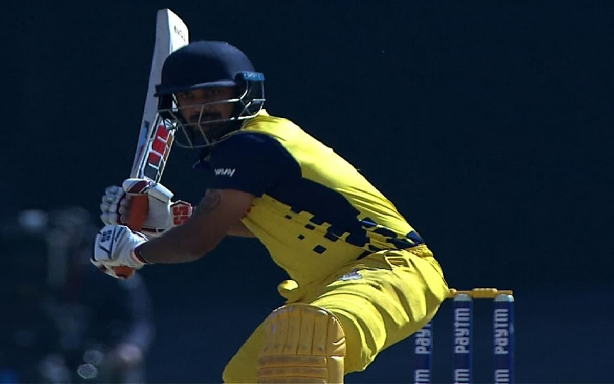 Syed Mushtaq Ali Tophy: Tamil Nadu defeats Rajasthan by 7 Wickets
