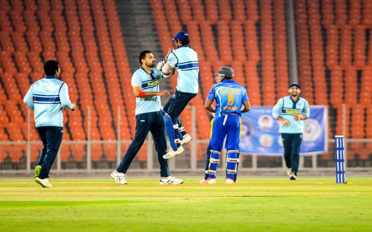 Cricket Image for Syed Mushtaq Ali Trophy: Baroda, Rajasthan Win, Enter Semis