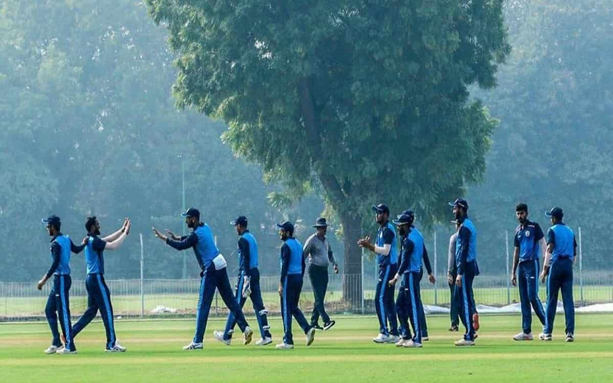Image of Cricket Baroda defeating Himachal Pradesh by 4 wickets in the tournament