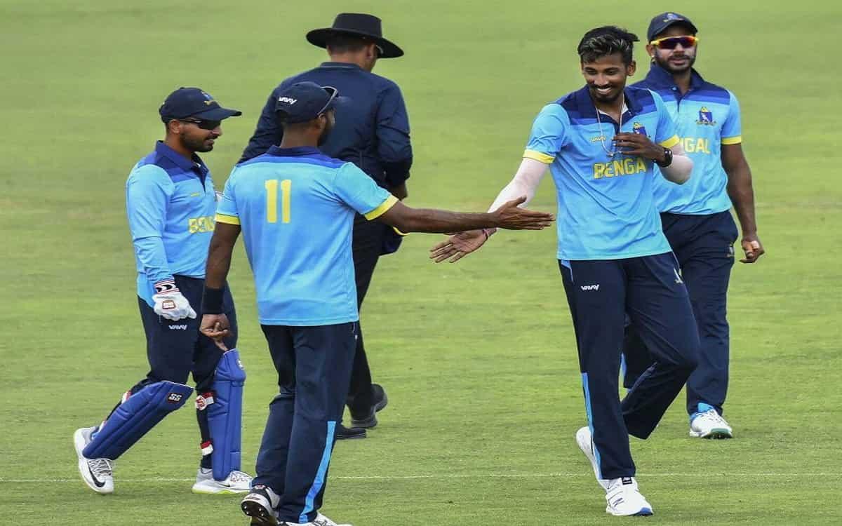Image of Cricket Syed Mushtaq Ali Tournament Bengal Cricket Team