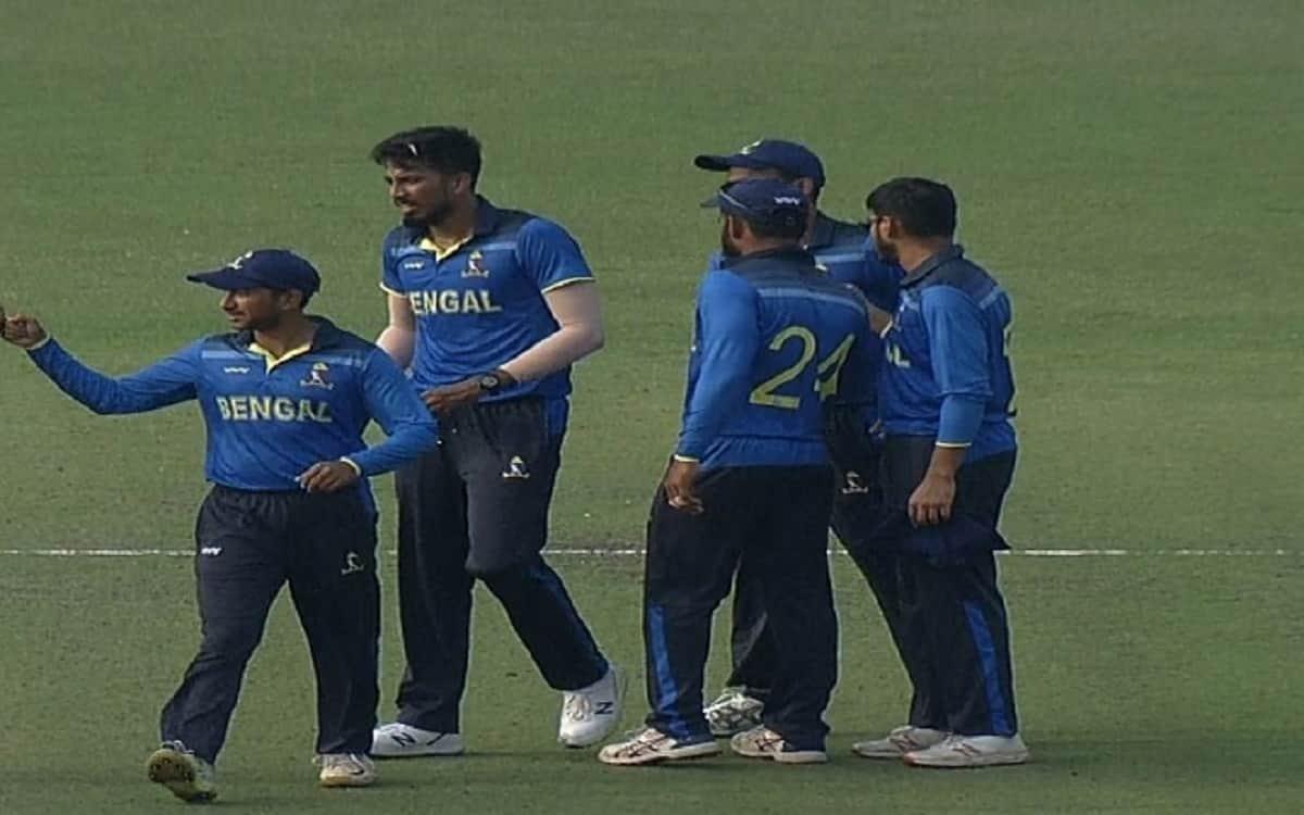 Syed Mushtaq Ali Trophy: Bengal beat Jharkhand by 16 runs