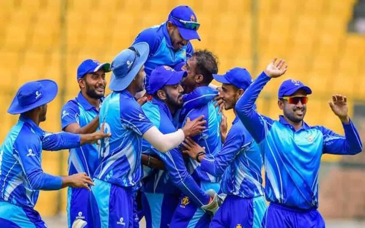 Image of Cricket Syed Mushtaq Ali Tournament Karnataka Cricket Team