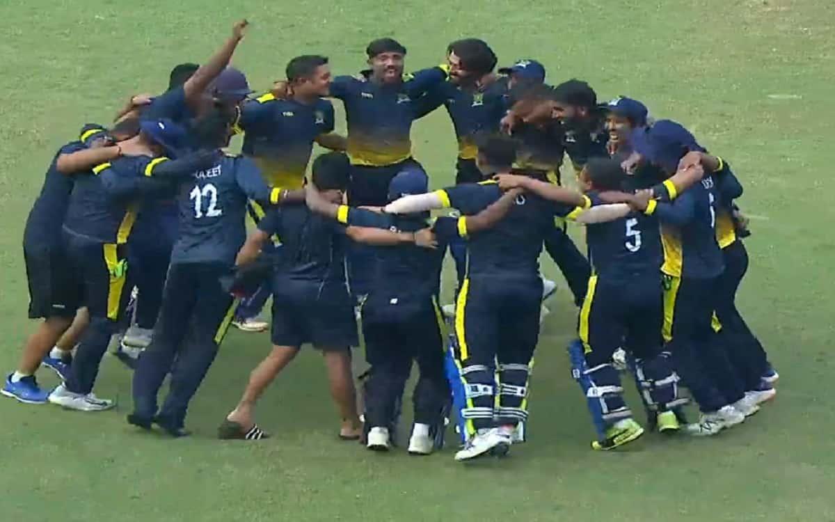 Syed Mushtaq Ali Trophy: Meghalaya beat Mizoram by 130 runs