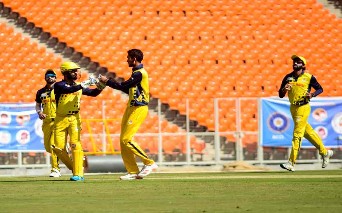 Cricket Image for Syed Mushtaq Ali Trophy: Tamil Nadu Beat Baroda By 7 Wickets In Final
