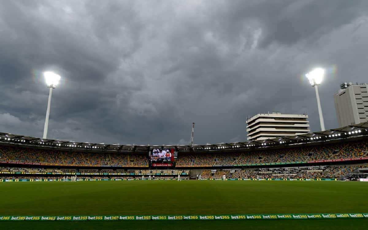 Cricket Image for AUS vs IND: Thunderstorms Expected On Final Day At The Gabba