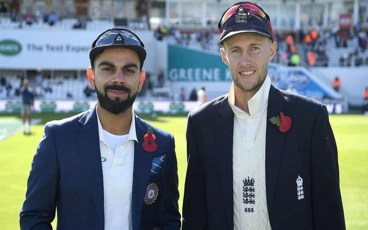 Cricket Image for Virat Kohli, Joe Root Face Different Tests Of Captaincy