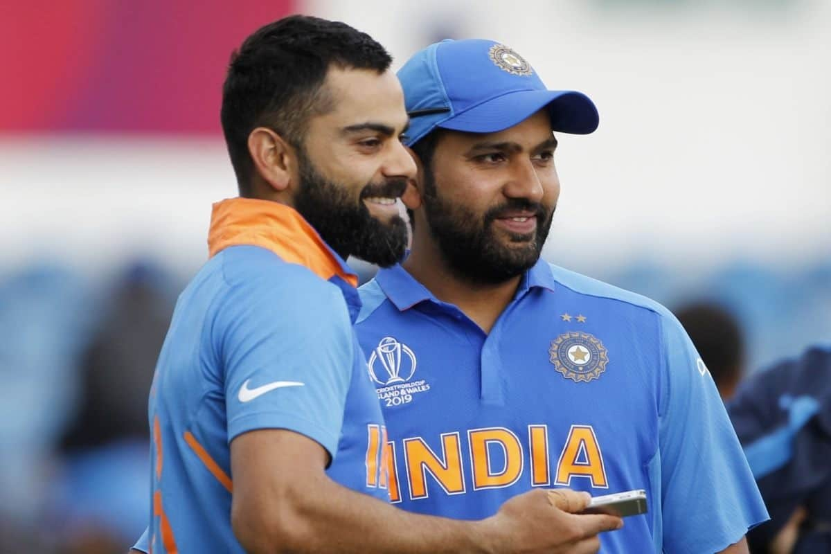 Cricket Image for Virat, Rohit Maintain Top Positions In The ICC ODI Rankings, Jadeja Slips