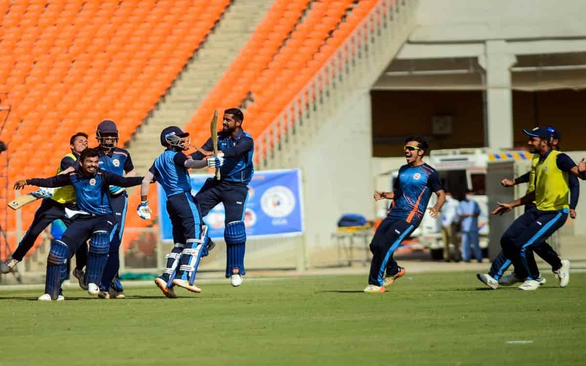 Syed Mushtaq Ali Trophy: Vishnu Solanki'S 71 Helps Baroda To Beat Haryana