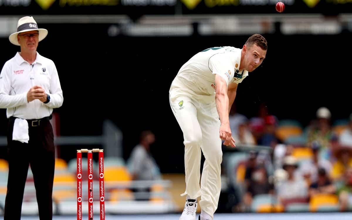 Cricket Image for We Let Them Off The Hook A Little Bit: Josh Hazlewood